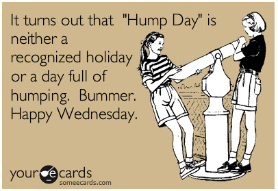It   s also What I Ate Wednesday  Head over to Peas and Crayons to    Happy Hump Day Funny Quotes